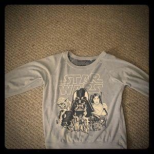 Starwars double print shirt